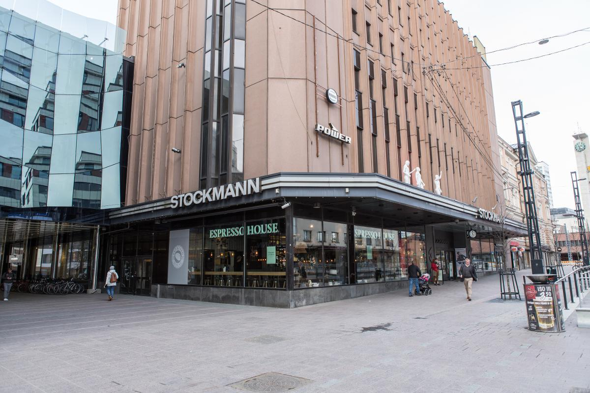 Stockmann is in the middle of a cost savings drive. The iconic department store in central Helsinki is the company's flagship. Kuva: Petri Huhtinen