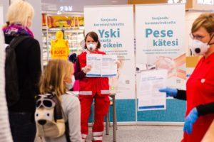 The Finnish Red Cross Blood Service Veripalvelu is reminding people that it still needs donations of blood even during the coronavirus crisis. Kuva: Emilia Kangasluoma